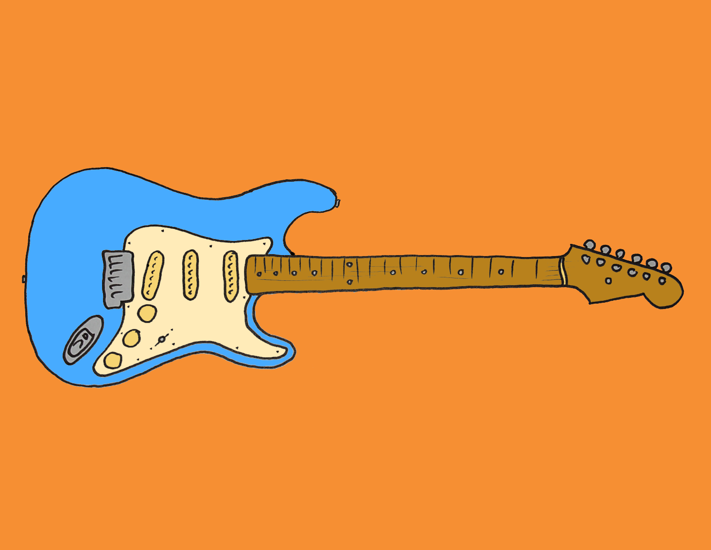 Gitarrenunterricht-Bammental